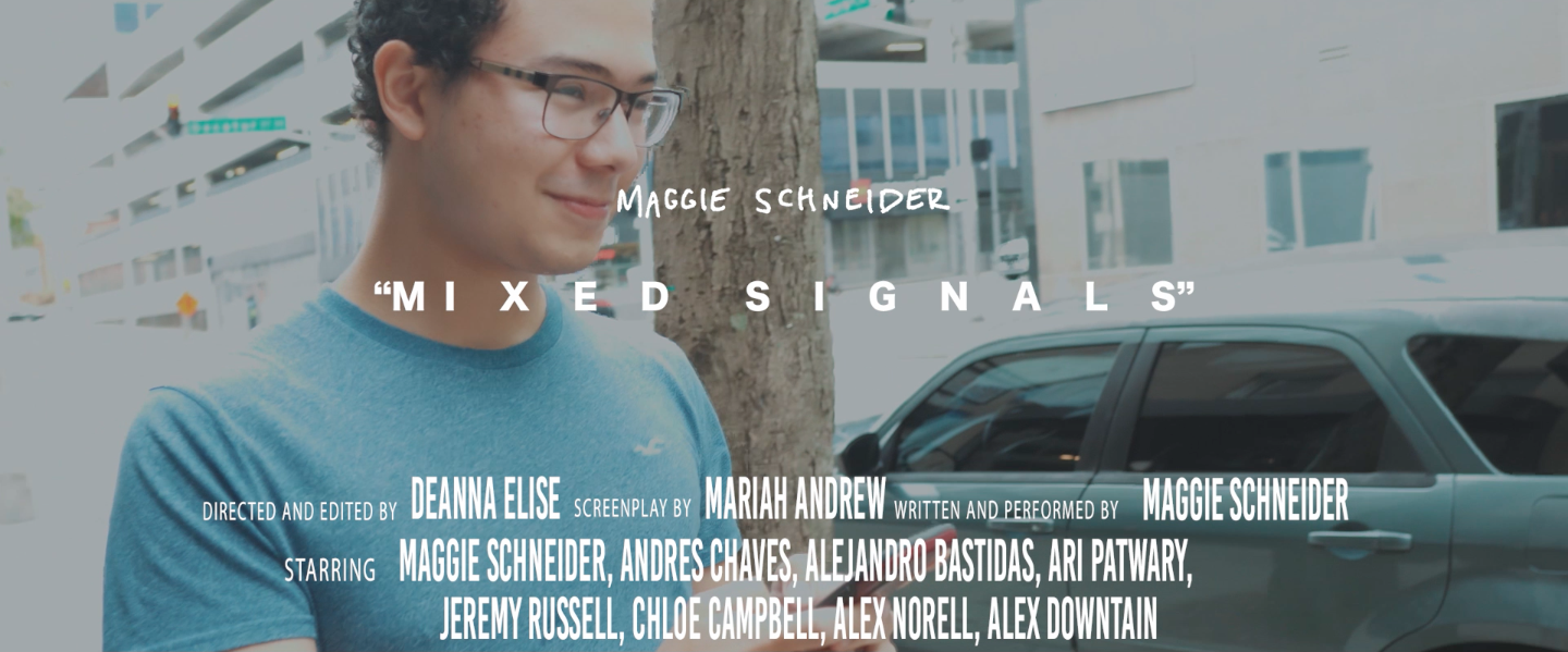 """Mixed Signals"" music video out now!"