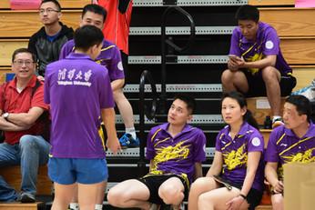 2019年底紫荆杯乒乓球比赛成功举办