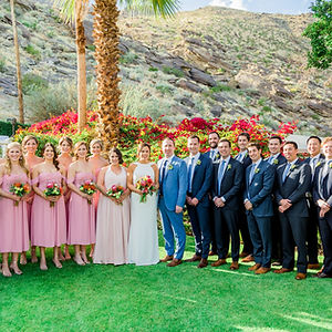 Wedding Flowers | Courtnee & Dave | Palm Springs Florist