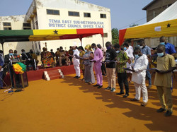 The Tema Metropolitan Assembly (TMA) on Wednesday, February 17, 2021, Inaugurated two Sub-Metropolit