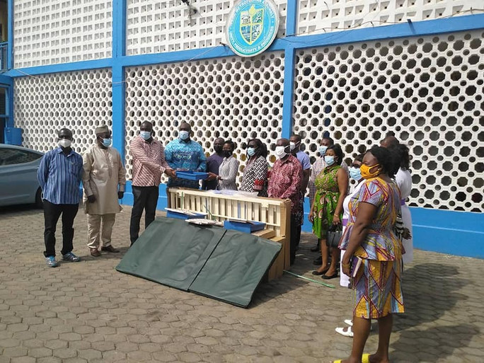 The Ministry of Special Development Initiatives (MSDI) through the Tema Metropolitan Assembly (TMA) has presented health logistics to some public and private hospitals in the Tema Metropolis.