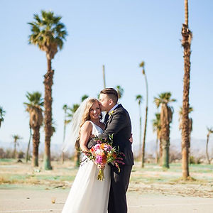 Wedding Flowers | Ash & Jed | Palm Springs Florist