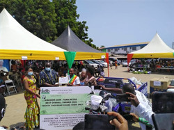 The Tema Metropolitan Assembly (TMA) has held a ceremony to mark the 36th Farmers' Day celebrations