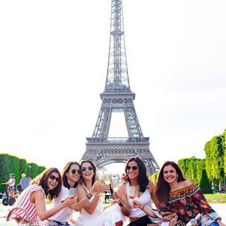 Um #picnicemparis com as amigas é um pro