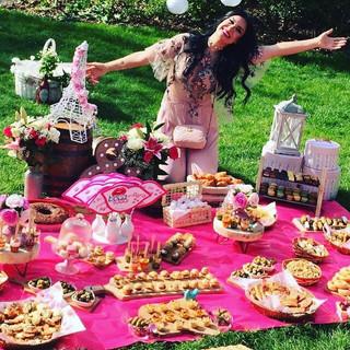 Picnic em Paris para a blogueira Bianca Andrade