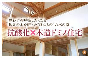 抗酸化×木造ドミノ住宅