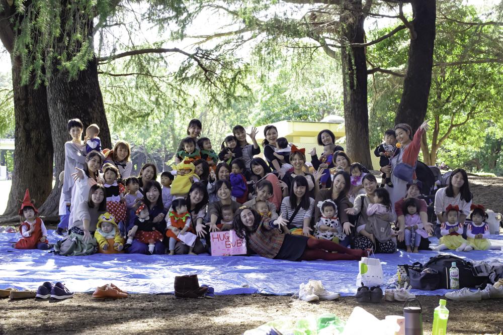 エンタメママ会HUGBUB『爆笑ハロウィンピクニック』開催