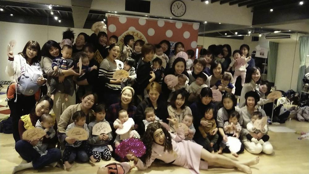 爆笑ベビーマッサージ東京新宿開催