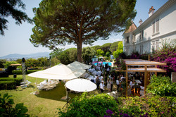 lunch party event south of France