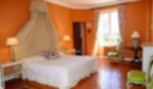 Château de Garibondy bedroom