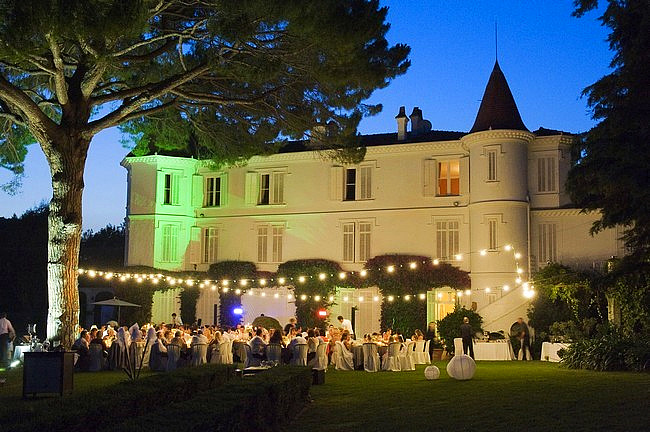 chateau wedding south of france