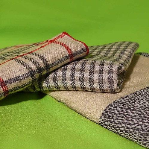 Kashmir-Schal, Handarbeit