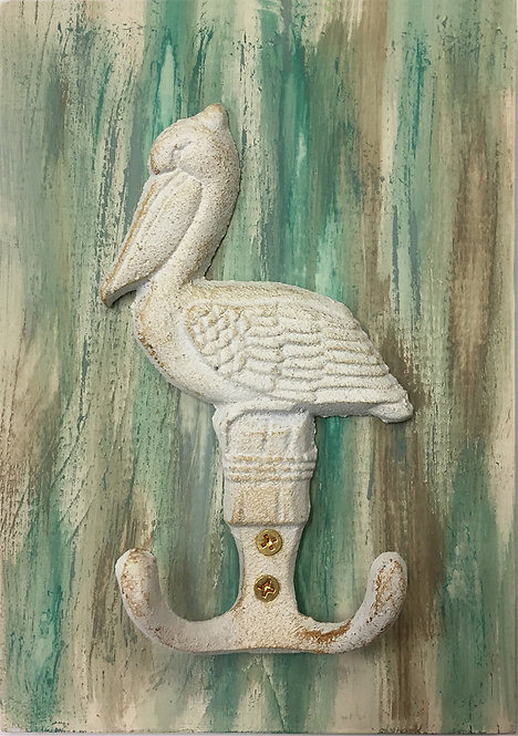 Pelican Hook painted white