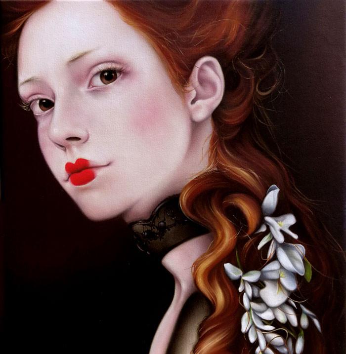 Mademoiselle Nativiel, Baronesa de las Acacias (Damas de Luz 2)