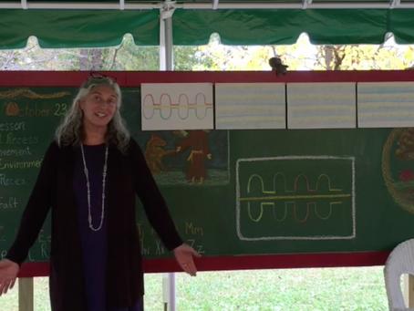 Form Drawing: Presented by WSP 2nd Grade Teacher Karen Atkinson