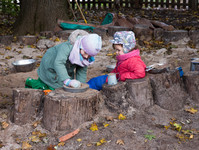 Outdoor Play Time: Activities for Wet and Cold-Weather Play