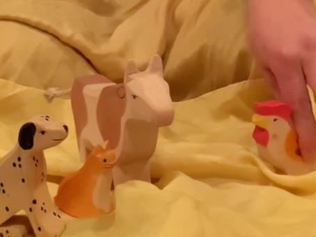 Virtual Puppet Show: Hen Makes Bread
