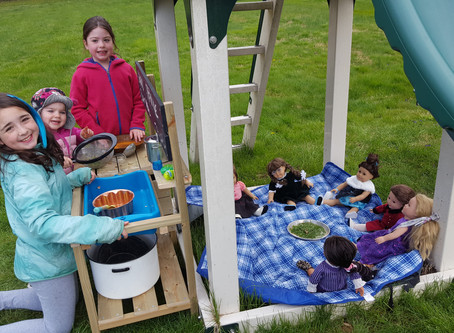 The Magic of the Mud Kitchen