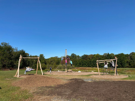 New Playground Welcomes Back Students