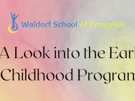Teacher Talk: A Look Into Our Early Childhood Program