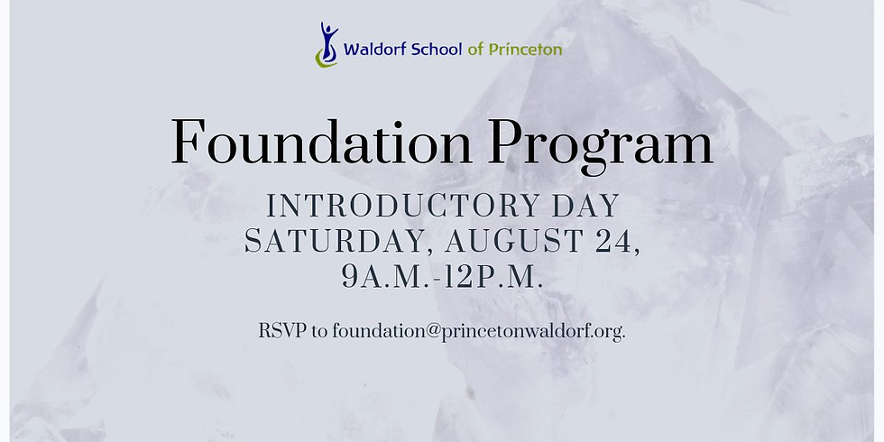 Foundation Program: Introductory Day