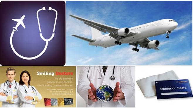 Emergência a bordo: se houver algum médico no avião por favor se identifique!