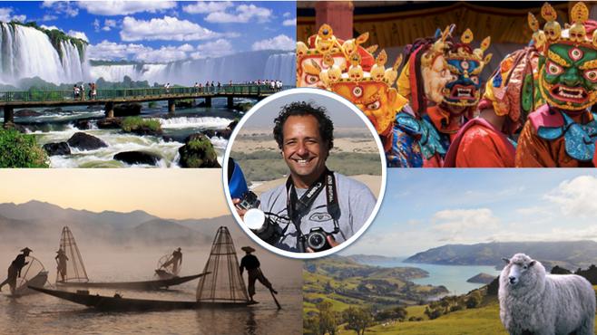Próximas partidas: Sudeste da Ásia, Foz do Iguaçú, Nova Zelândia & Sydney, Butão & Sri Lanka