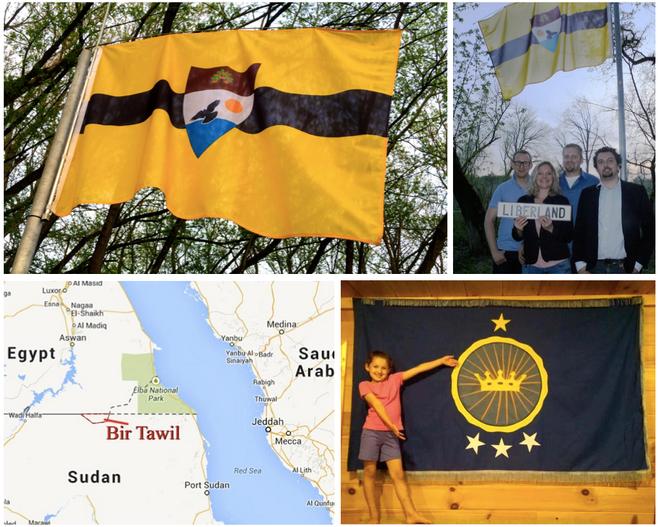 Quando visitaremos a República Livre de Liberland? E o Reino do Sudão do Norte?