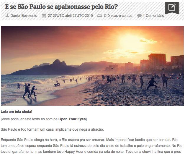 Sobre Rio e São Paulo, Bangkok e Salvador, Veranópolis e Thimphu... Sobre amores de aeroporto e se a