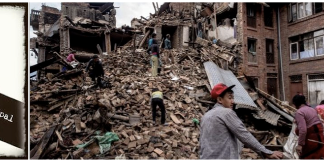 O Terremoto no NEPAL