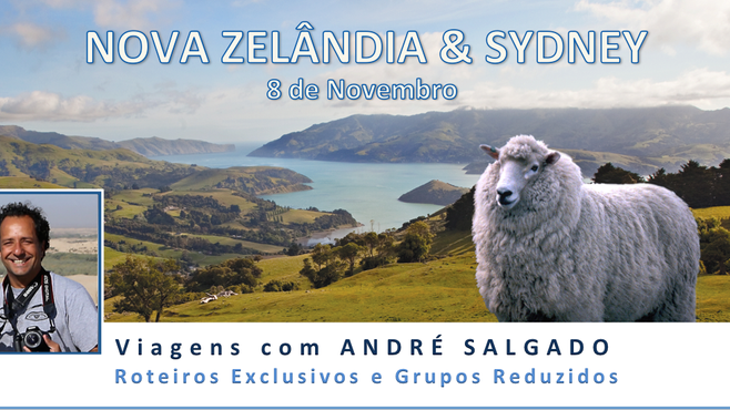 Em Novembro, passeio sem igual pela Nova Zelândia & Sydney