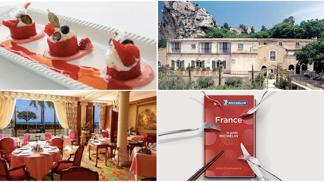 Na PROVENCE & RIVIERA FRANCESA, restaurantes estrelados no Guia Michelin.
