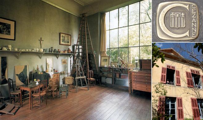 PROVENCE & RIVIERA FRANCESA - Visita ao ateliê do filho ilustre de AUX-EN-PROVENCE, Cézanne.