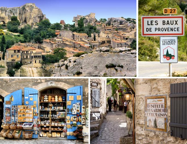 LES BAUX DE PROVENCE, das mais bonitas vilas em toda França.