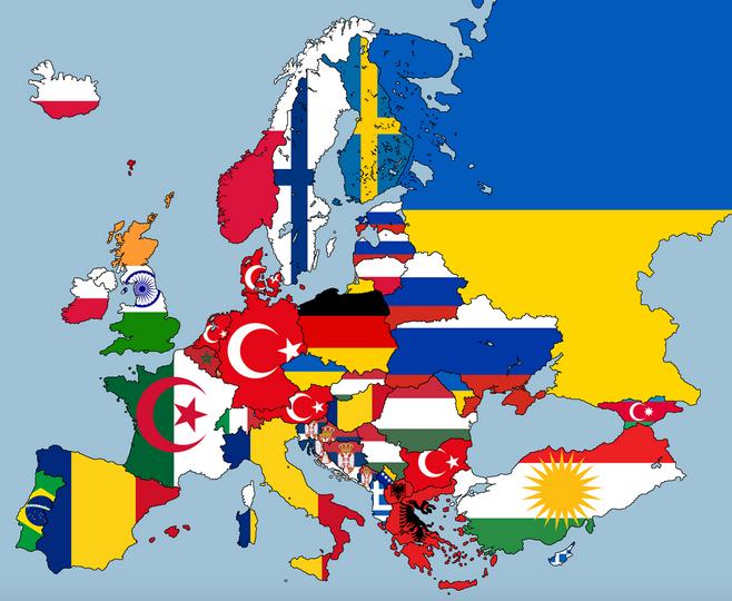 Qual a maior população de expatriados em cada país europeu?
