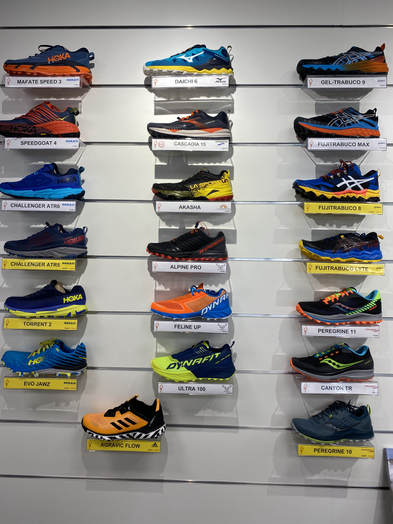 trail chaussures