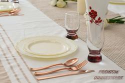 Osleek Disposable Dinnerware Set