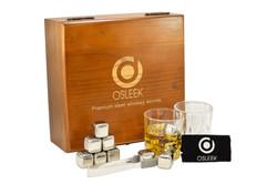 osleek steel whiskey stones