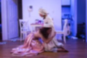 """Irina Bravo as Rivkele in """"God of Vengeance"""" directed by Kern McFadden at the Stella Adler Studio Of Acting"""