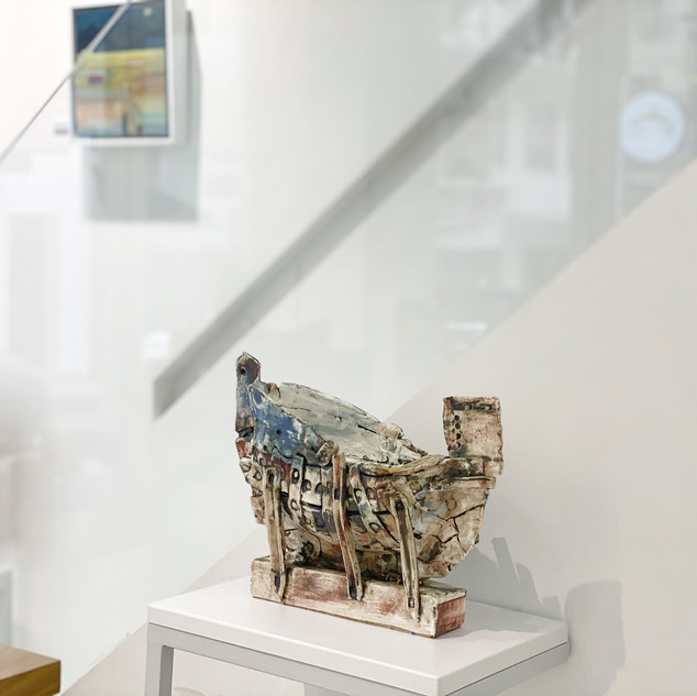 Fred Croft Solo Exhibition 'A Martitime Perspective', 2020