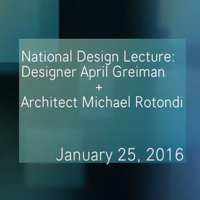 VIDEO : Design Lecture - April Greiman and Michael Rotondi