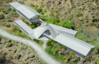 retreat architecture los angeles rotondi wolf rescue