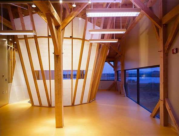 Sinte Gleska Native Ameican Indian Rotondi Architecture