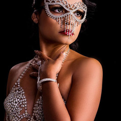 _Behind every mask there is a face, and