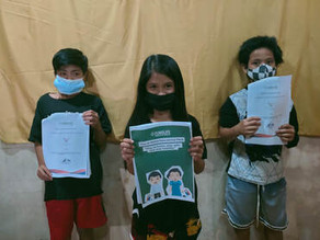 Distribution of Educational Packs Stirs Hope in Youth from Leyte