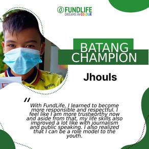 A Responsible Brother and Son: Batang Champion Jhouls