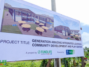 FundLife announces new integrated community and learning center for children in Tacloban North
