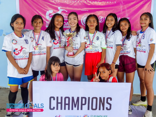 Girls Community League Tacloban - Season 1 officially ended with a bang