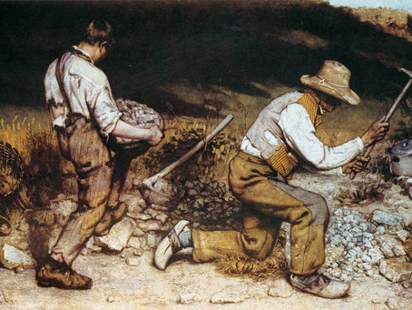 Podcast Episode 34: The Stonebreakers by Gustave Courbet