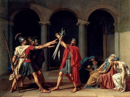 Podcast Episode 28: The Oath of the Horatii by Jacques Louis David